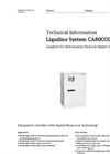 Model CA80COD - COD Analyzer Liquiline System - Brochure