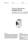Fieldgate FXA42 - Remote Monitoring System - Technical Manual