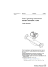Proline Promass - Model F 200 - Coriolis Flowmeter - Brief Operating Instructions Manual