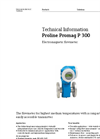 Proline Promag P 300 Electromagnetic Flowmeter - Technical Information