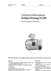 Proline Promag H 100 Electromagnetic flowmeter - Technical Information