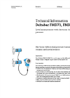 Deltabar FMD71, FMD72 Level Measurement with Electronic Differential Pressure - Technical Information