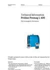 Proline Promag L 400 Electromagnetic Flowmeter - Technical Information