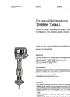 iTHERM TM412 Modular Resistance Thermometer - Technical Information