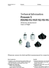 Prosonic S FDU90/91/91F/92/93/95 Ultrasonic Measurement - Technical Information