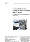 MS20 / MS21 Field Data Manager Software - Technical Information