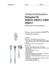 Deltapilot M FMB50, FMB51, FMB52, FMB53 Hydrostatic Level Measurement - Technical Information