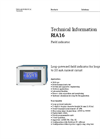 RIA16 Field Indicator - Technical Information