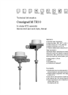 Omnigrad M TR10 Modular RTD Assembly Thermowell and Neck Tube, Thread - Technical Information