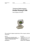 Proline Promag H 300 Electromagnetic Flowmeter - Technical Information