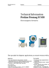 Proline Promag H 500 Electromagnetic Flowmeter - Technical Information