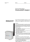 WirelessHART Adapter SWA70 - Technical Information