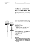 Omnigrad S TR66, TC66 Explosion-Proof Pt100 Thermometer - Technical Information