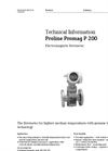Proline Promag P 200 Electromagnetic Flowmeter - Technical Information