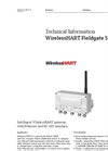 WirelessHART Fieldgate SWG70 Intelligent WirelessHART Gateway with Ethernet and RS-485 Interface - Technical Information
