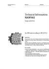 HAW562 Surge Arrester - Technical Information