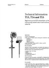 T13, T14 and T15 Explosion Proof RTD Assemblies - Technical Information