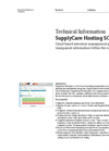 SupplyCare Hosting Supply Chain Management Online Software - Technical Information