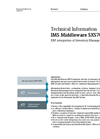IMS Middleware SXS70 - Technical Information
