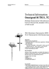 Omnigrad M TR15, TC15 Modular Thermometer - Technical Information