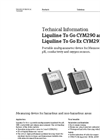 Liquiline To Go CYM290 and Liquiline To Go Ex CYM291 Portable Multiparameter Device - Technical Information