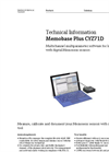 Memobase Plus CYZ71D Multichannel Multiparameter Software - Technical Information
