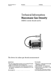 Nanomass Gas Density MEMS Coriolis Density Meter - Technical Information