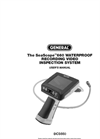 Model DCS665 - Waterproof Recording Video Inspection Camera/Borescope with 5.5mm Probe Brochure