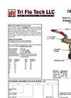 TRI P FLO - Model 140 - HVAC Flow Sensor Pitot Tube Brochure