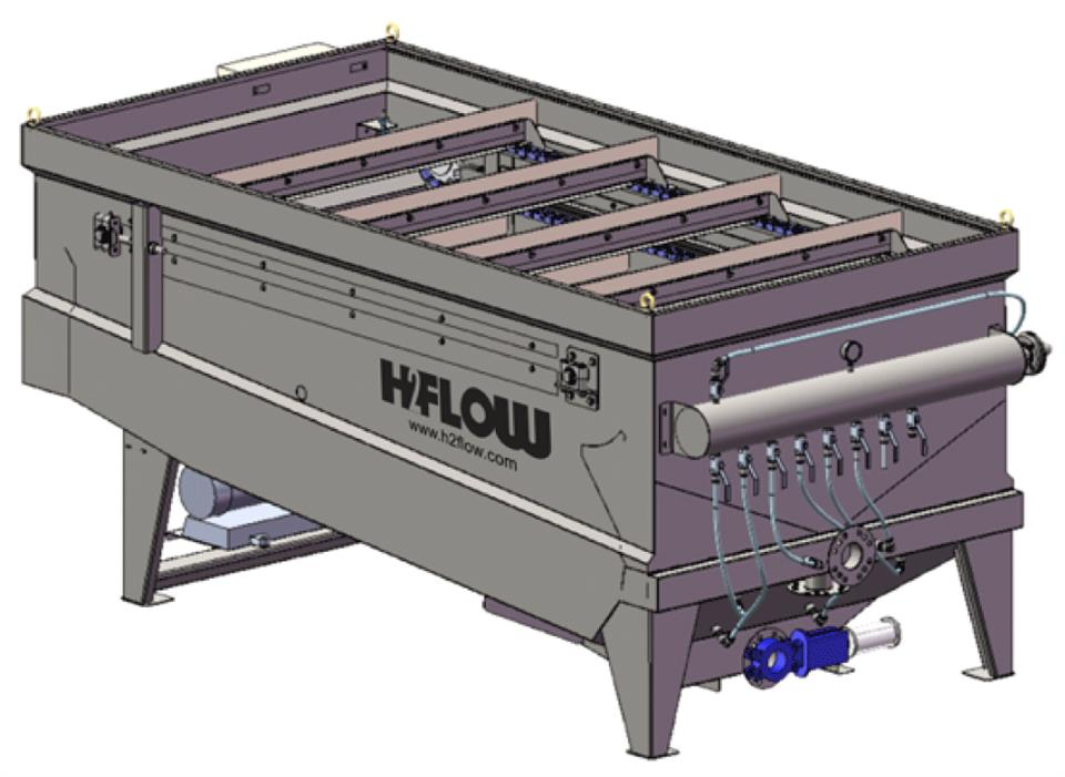 H2Flow - Alpha Dissolved Air Flotation (DAF) system: