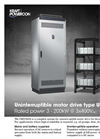 Uninterruptible Motor Drives Type UMD S400 Brochure
