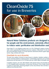 CleanOxide 75 for Use in Breweries - Brochure
