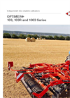 OPTIMER - Model 403R - Stubble Cultivators with Discs Brochure