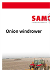 Samon - Rotating Bar Harvester - Specificaties - Brochure