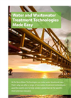 Water and Wastewater Treatment Technologies - Brochure