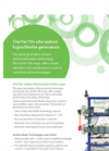 ClorTec On-Site Sodium Hypochlorite Generation Systems Brochure