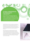 TETRA Underdrain Filter Blocks U Blocks - Brochure