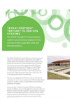 TETRA DeepBed - Tertiary Gravity Filtration System - Brochure