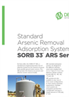 SORB 33 - ARS Series - Standard Arsenic Removal Adsorption System - Brochure