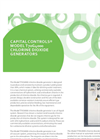 Capital Controls - Model T70g4000 - Chlorine Dioxide Generators - Brochure