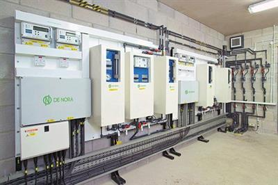 Capital Controls - Chlorine Gas Feed Disinfection System