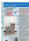 Rhino Standard - Model Mk2 - Heavy Duty Water Fountain Brochure