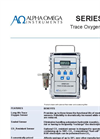 Alpha Omega - Model Series 3000 - Trace Oxygen Analyzer - Data Sheet