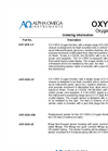 OXY-SEN Oxygen Monitor Product Configurator