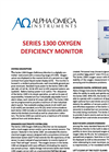 AOI - Model Series 1300 - Oxygen Deficiency Monitor - Data Sheet