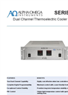 AOI - Model Series 860 - Dual-Channel Rack-Mounted Thermoelectric Cooler Controller - Data Sheet