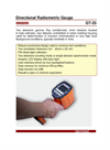 Model GT-25 - Gamma Ray Scintillometer Brochure
