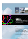 Model RS-500 - Advanced Digital Gamma-Ray Spectrometer - Brochure