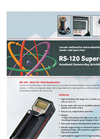Super-SCINT - Model RS-120 - Handheld Radiation Detector Brochure