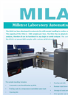 Lactotronic - Model MILA - Milktest Laboratory Automation - Brochure